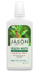 Ополаскиватель для рта с чайным деревом, корицей и гвоздикой, Jason