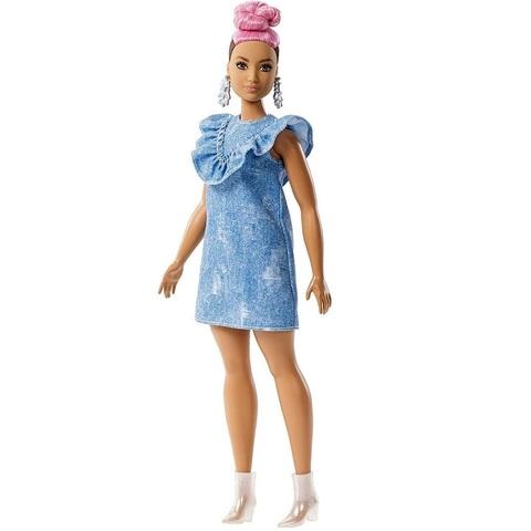 Барби Fashionistas 95 с Розовыми Волосами