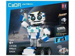 Радиоуправляемый конструктор CaDA Technic Робот DADA (606 деталей)