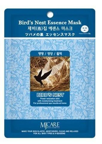 MIJIN Essence Маска тканевая ласточкино гнездо Bird`s Nest Essence Mask