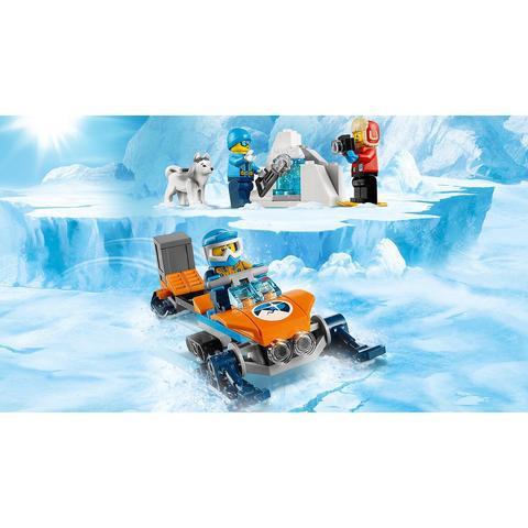 LEGO City: Арктическая экспедиция: Полярные исследователи 60191 — Arctic Exploration Team — Лего Сити Город
