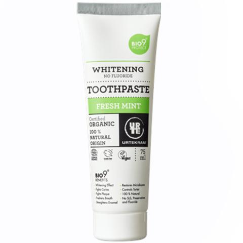 Urtekram Отбеливающая зубная паста Освежающая мята