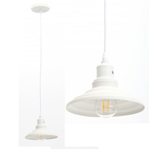 Подвесной светильник Эра PL4 WH белый