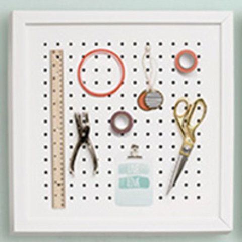 Органайзер We R Organization Gallery Shadow Box Frame -Pegboard