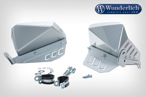 Защита от брызг BMW R1200GS/GSA/R LC/RS серебро