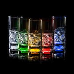 Светящийся бокал для коктейлей GlasShine, синий, фото 2