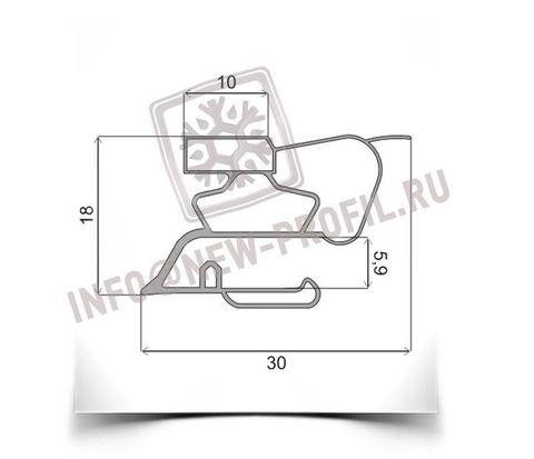 Уплотнитель для морозильника Саратов 170 размер 1365*450 мм (015/013)