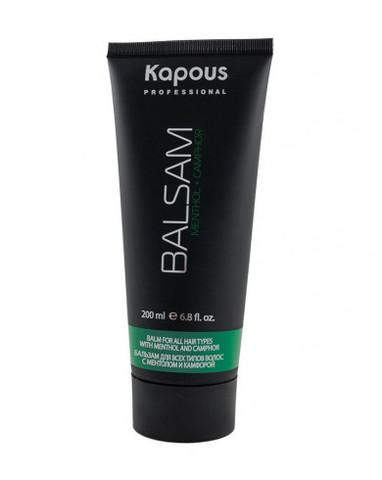 Бальзам с ментолом и маслом камфоры Kapous Professional, 200 мл