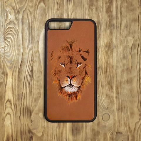 "Бампер ""Морда льва"", рыжий"