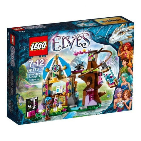 LEGO Elves: Школа драконов 41173 — Elvendale School of Dragons — Лего Эльфы