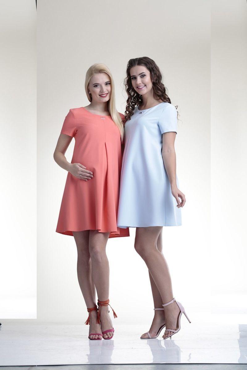 Фото платье для беременных Mama i Ja от магазина СкороМама, розовый, размеры.