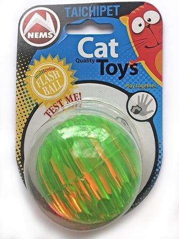 NEMS игрушка мяч резиновый светяшийся 8 см