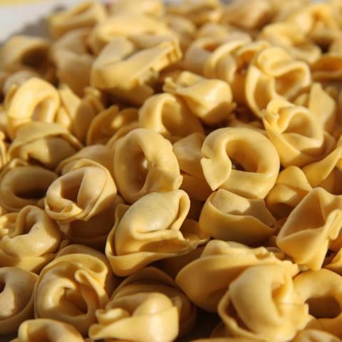 Тортеллини с начинкой из сыра