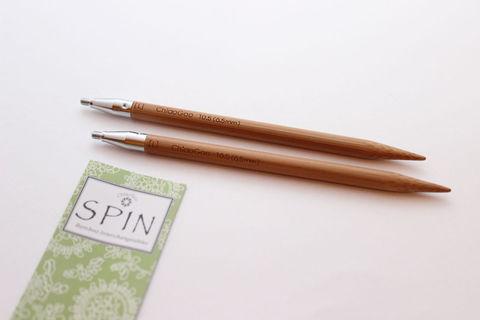 ChiaoGoo Спицы съемные бамбук 13 см L