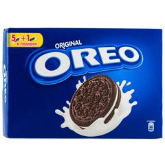 """Печенье """"Oreo"""" с какао и начинкой с ванильным вкусом, 228 г"""