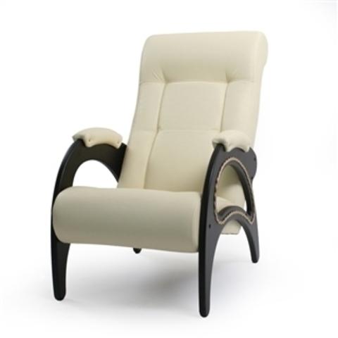 Кресло АМУЛЕТ (ИЛ-08 Dondolo,мод 41 Манго-002) белый матовый с лозой