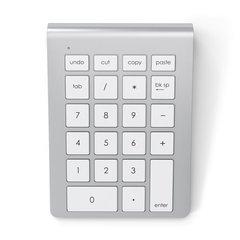 Цифровой блок Satechi Bluetooth Aluminum беспроводной цифровой, серебряный