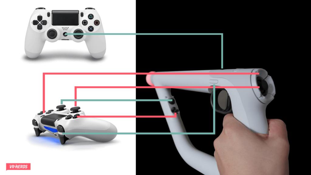 Контроллер прицеливания PlayStation VR  Aim Controller Bundle