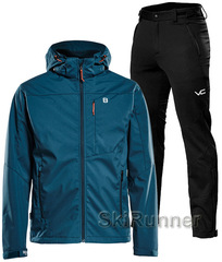 Лыжный утепленный костюм 8848 Altitude Padore Softshell Deep Dive 905 Victory Code Cross Warm