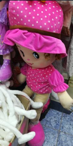 Кукла в розовой одёжке 45 СМ