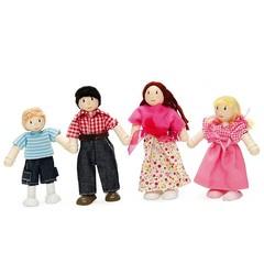 Le Toy Van Набор деревянных кукол Budkins