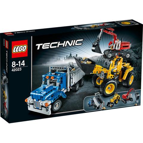 LEGO Technic: Строительная команда 42023 — Construction crew — Лего Техник