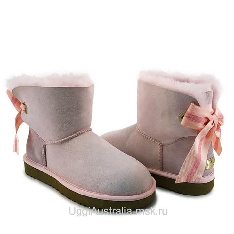 UGG Bailey Bow Customizable Mini Pink