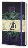 Блокнот Moleskine Limited The Avengers Large 130х210мм 240стр линейка Hulk (LEAVQP060HU)