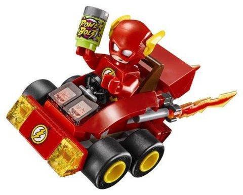 LEGO Super Heroes: Флэш против Капитана Холода 76063 — Mighty Micros: The Flash vs. Captain Cold — Лего Супергерои Marvel Марвел DC Comics комиксы