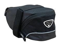 """Велосумка подседельная LONGUS """"STRAP L"""", черная, застежка Velcro"""