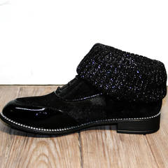 Туфли чулки Kluchini 5161 k255 Black