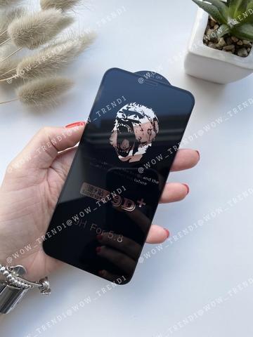 Стекло защитное 9D+ iPhone X/XS 0,18 /black/ Ultra thin
