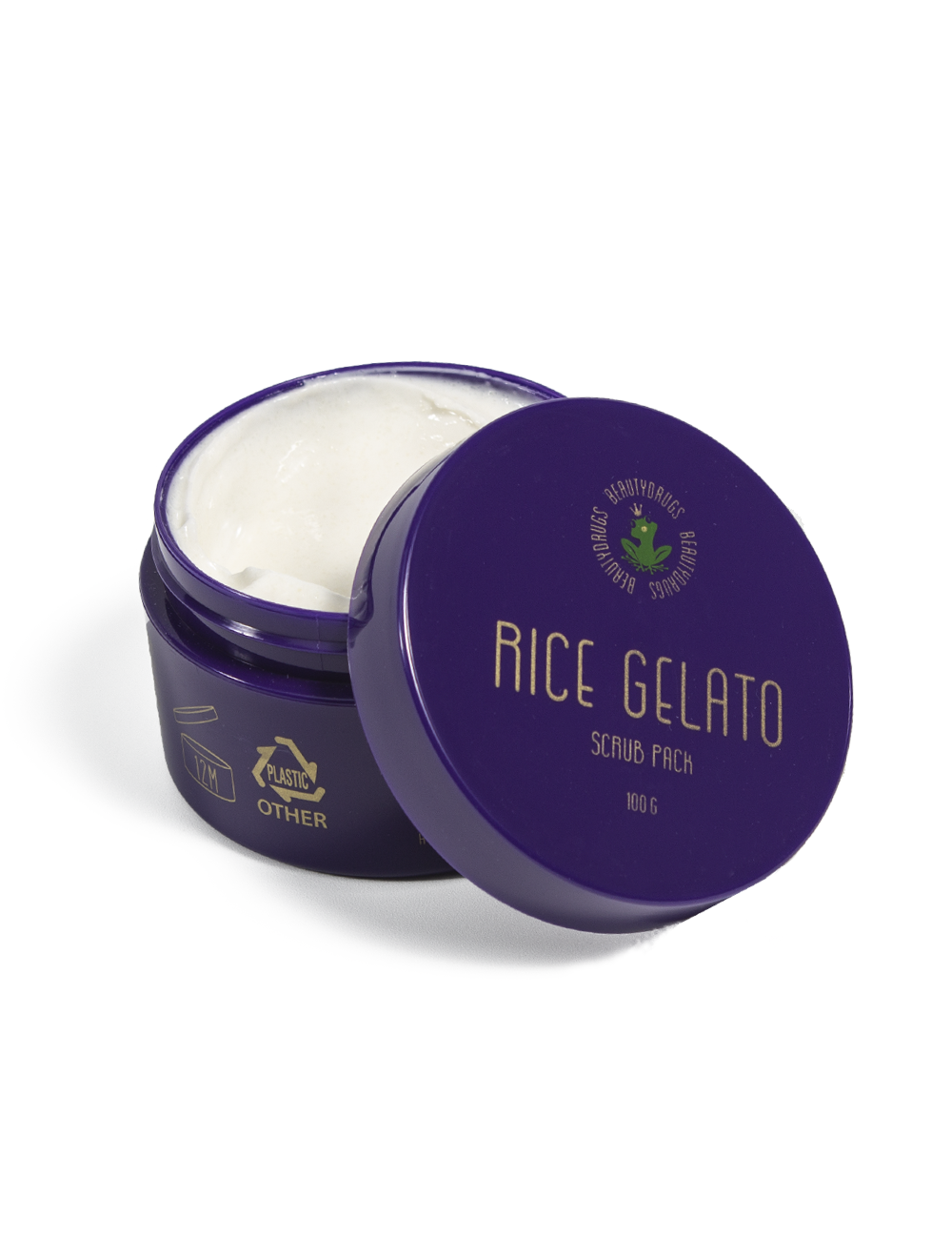 Скраб рисовый Beautydrugs для лица