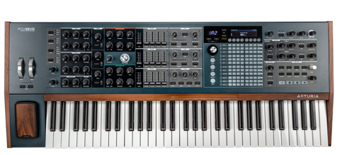 Arturia PolyBrute полифонический аналоговый синтезатор с морфингом звука