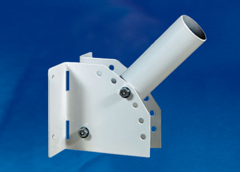 UFV-C02/58-250 GREY Кронштейн универсальный для консольного светильника, 250мм. Регулируемый угол. Диаметр 58мм. Серый. TM Uniel.