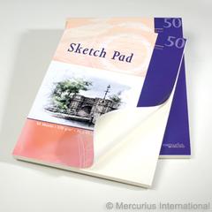 Бумага для рисования 50 листов (Mercurius)