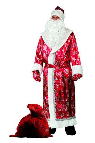 Дед Мороз красный (сатин)