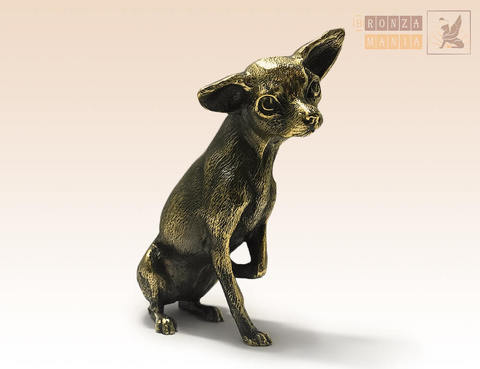 статуэтка Собака Той-терьер