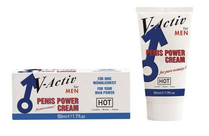Стимулирующий крем для мужчин V-activ - 50 мл.
