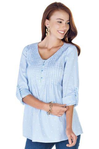 Рубашка для беременных 09420 цветочный принт