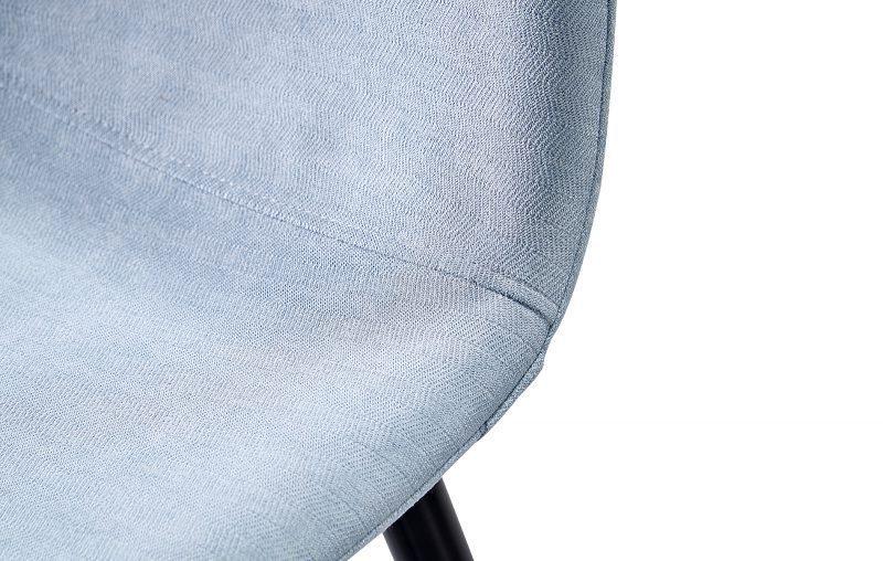 Стул полубарный ESF 350S голубой/черный