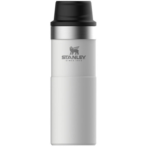 Термокружка Stanley The Trigger-Action Travel Mug (10-06439-032) 0.47л белый