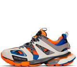 Кроссовки Balenciaga Track Trainers Blue/Orange