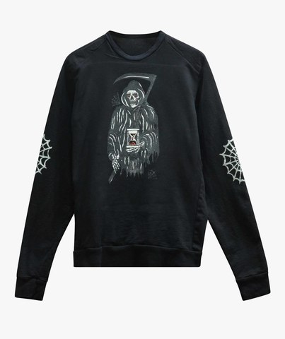 Толстовка The Saints Sinphony REAPER FRENCH TERRY SWEATSHIRT BLACK