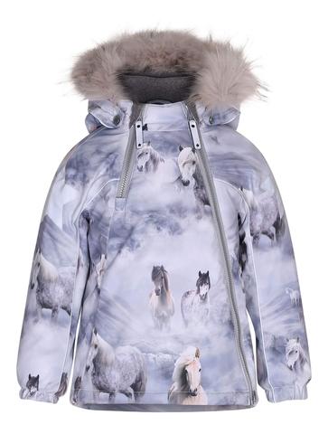 Купить куртку Molo Hopla Fur Pony в интернет-магазине Мама Любит!