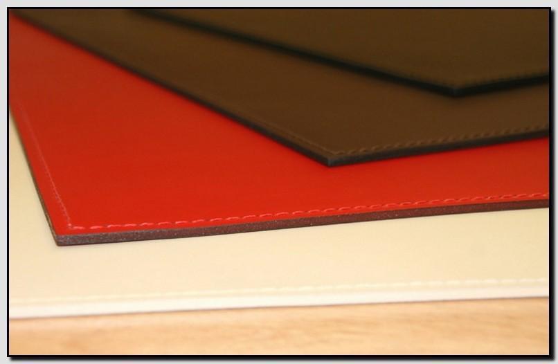 прямоугольный кожаный бювар 110*55 см