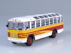 ZIL-158A Excursion white-yellow Soviet Bus 1:43