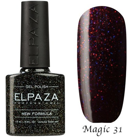 Гель лак Elpaza Magic,СОБЛАЗН 31