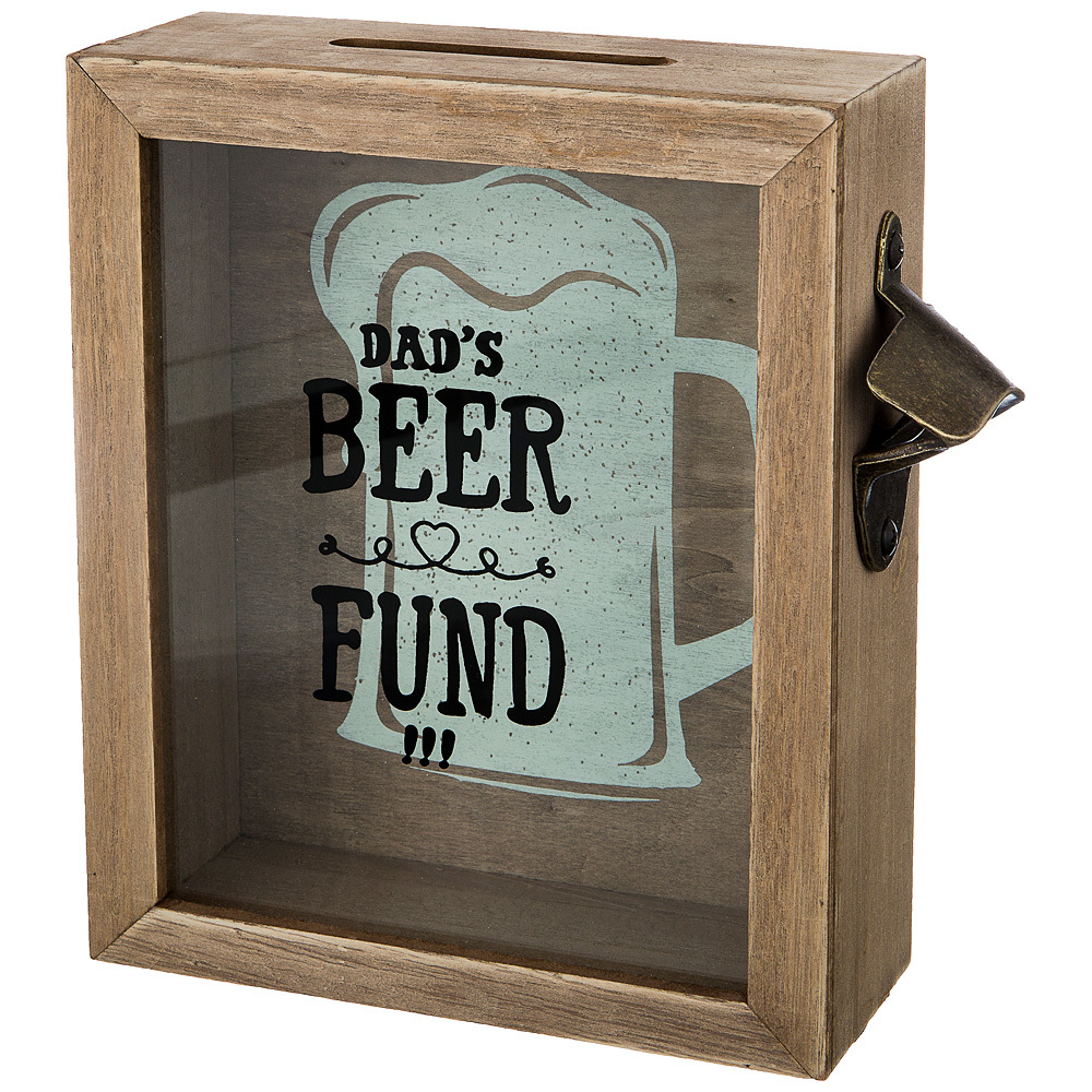 Копилка для пробок «Фонд Папиного Пива» копилка lefard фонд папиного пива 21х22х7см д пробок мдф