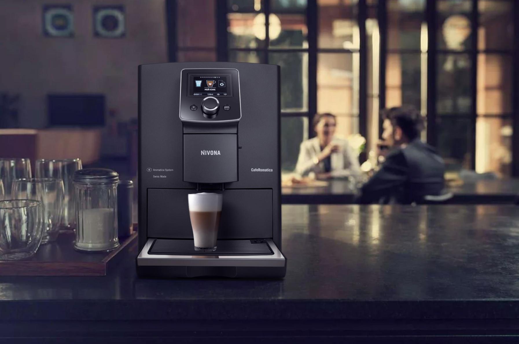 Кофемашина NICR 820 + кофе в зернах Craft, Platinum, Oro, Delikato, Latina Fuerte